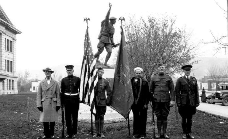 Dedication of statue Nov 11 1927_Missoulian.photo.11.11.2017 (002)